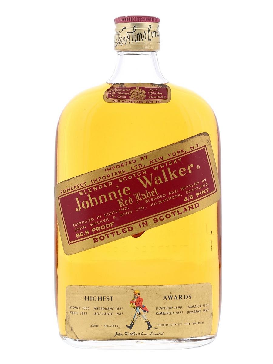 7199dc33baf84 Johnnie Walker Red Label Half Bottle 37.8cl   43% - Kabukiwhisky Buy ...