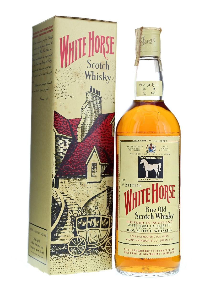 White Horse Bot.Pre 1989