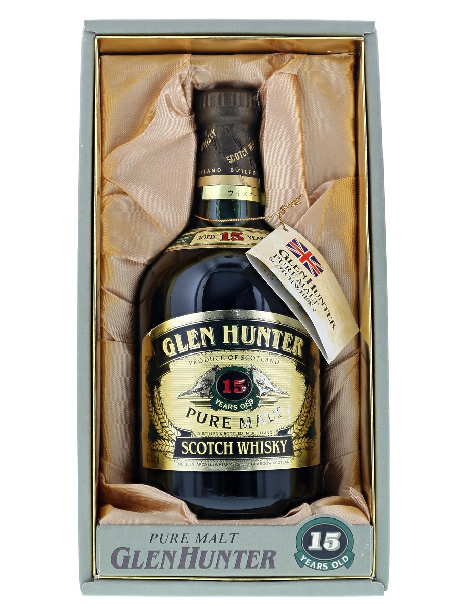 Glen Hunter 15 Year Pure Malt Expot Fpr only Japan
