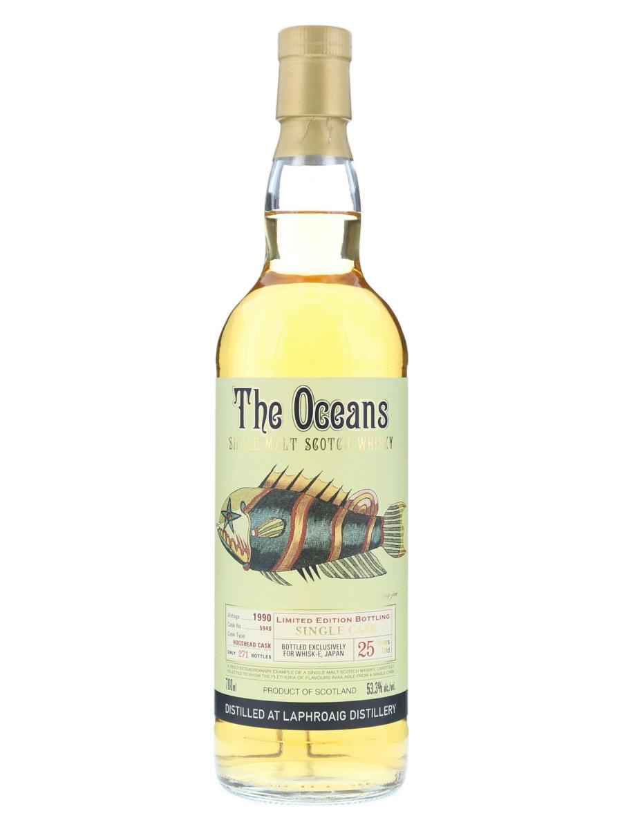 Laphroaig The Oceans 1990 #5940
