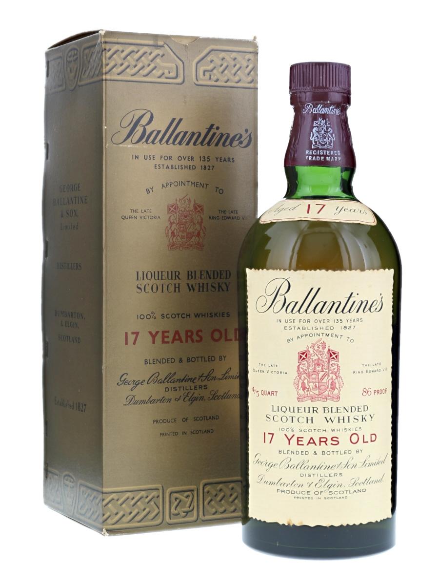 Ballantine's 17 Years 1950s