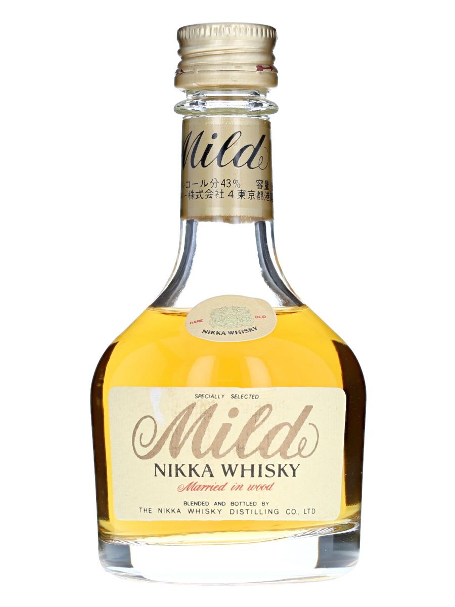 Mild Nikka Whisky Married in Wood Miniature Bottle
