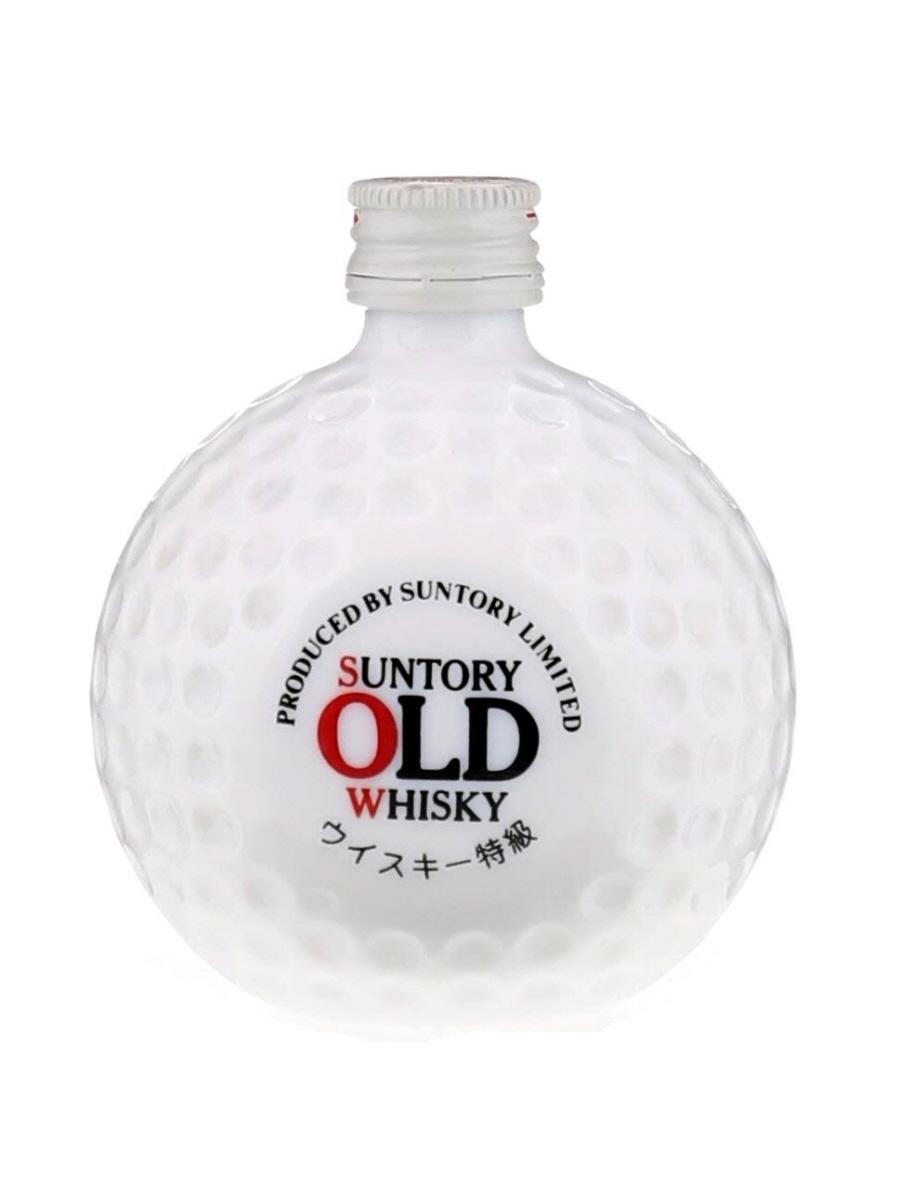 Suntory Royal Blended Whisky Golf Ball Miniature Bottle