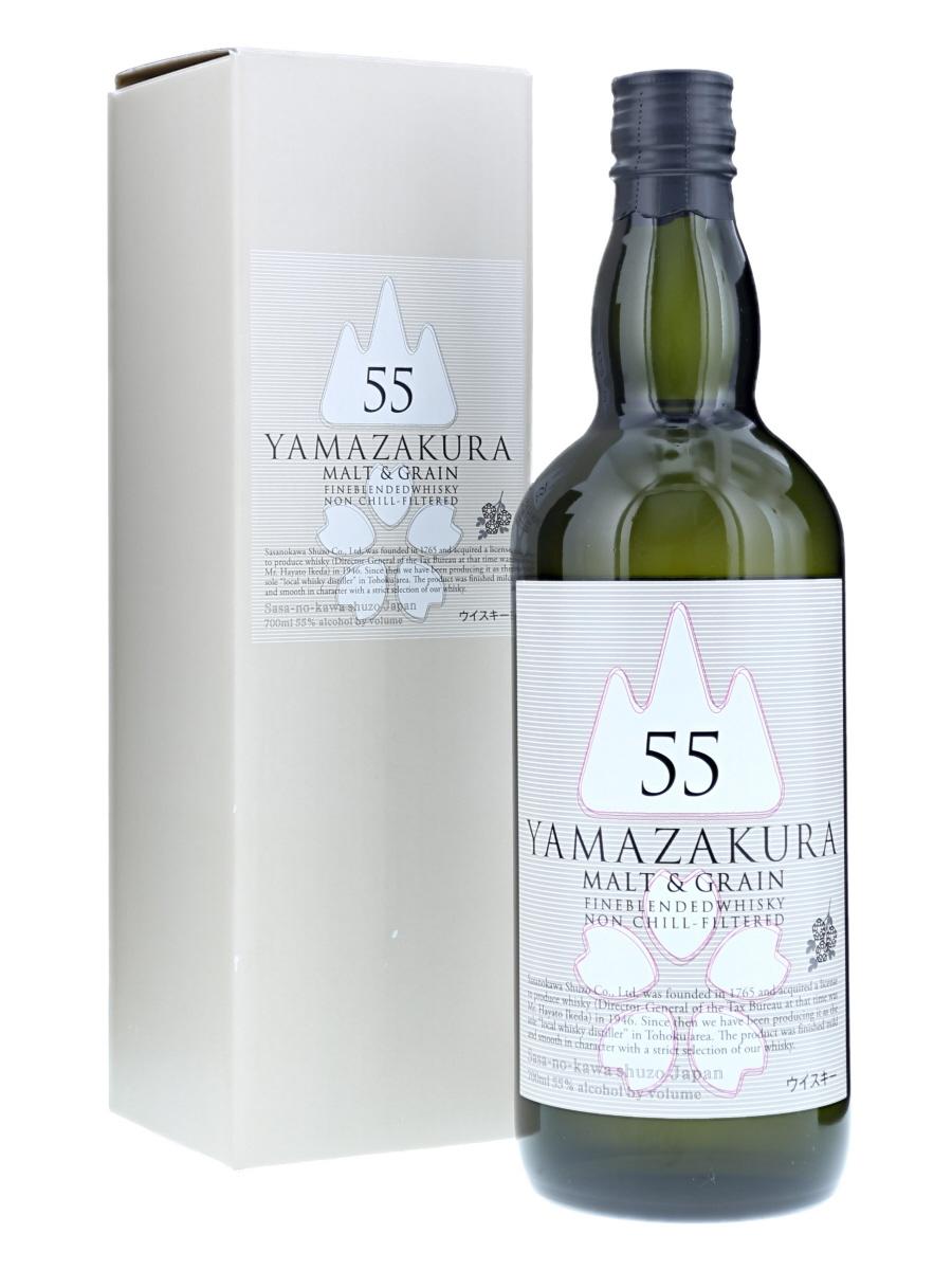 Yamazakura 55 Malt & Grain (Box Damage)