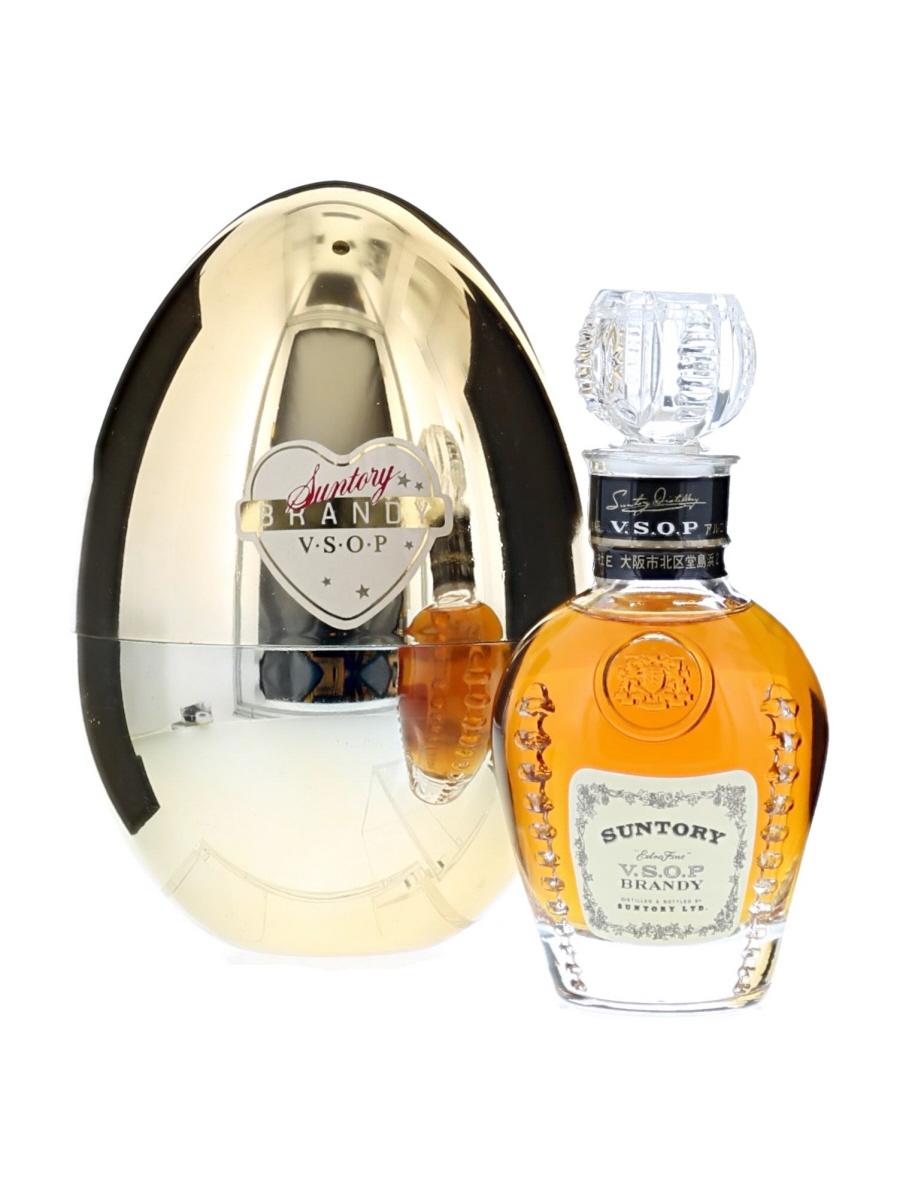 Suntory VSOP Brandy Egg Bottle
