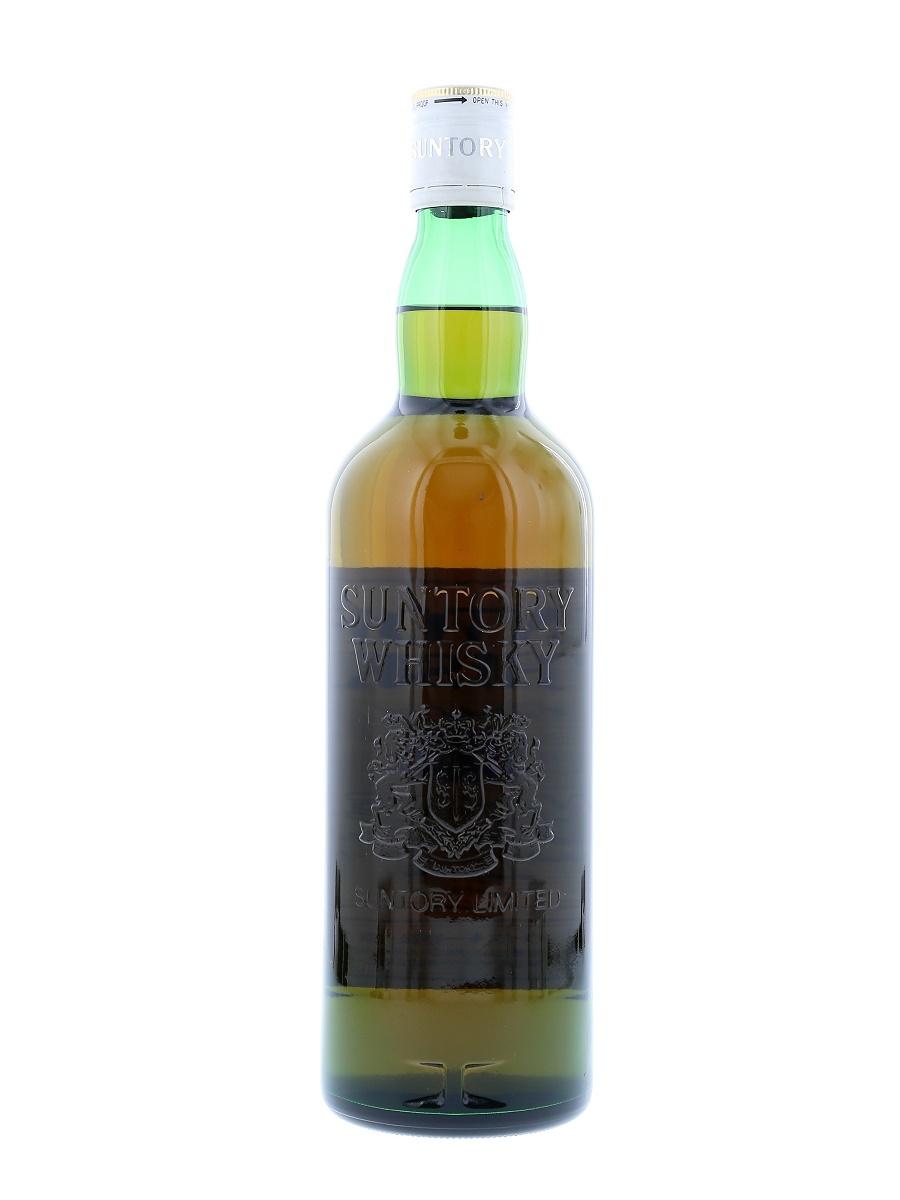 Suntory White Whisky back