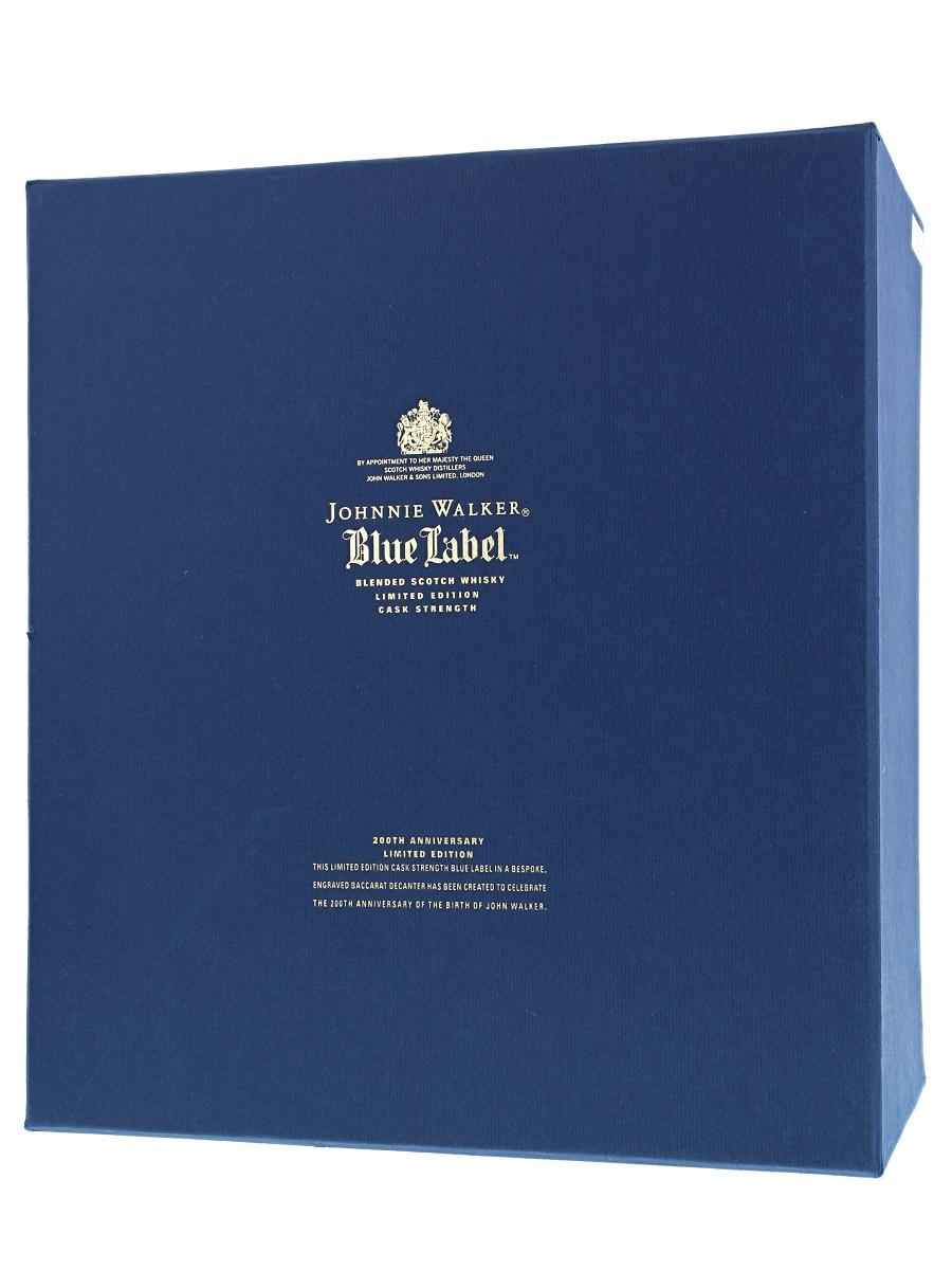 Johnnie Walker Blue Label 200th Anniversary 75cl / 59.9% Box