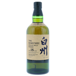 Hakushu 18 Year Single Malt (Without Box) 70cl / 43% Front