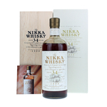 Nikka Whisky 34 Years 1999 Release