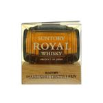 Suntory Royal Blended Whisky Barrel Bottle
