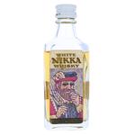 White Nikka Miniature Bottle