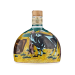 Suntory Brandy Kutani Ceramic Bottle