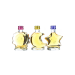 Suntory Brandy VSOP Sun Moon Star 3 Bottles Set Miniature Bottle