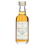 Macallan 1980-1998 Miniature Bottle