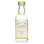 Dallas Dhu 1979 G&M Malt Scotch Whisky Miniature Bottle