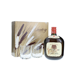 Suntory Old Blended Whisky With Glass