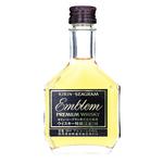 Kirin-Seagram Emblem Blended Whisky Miniature Bottle